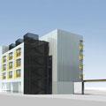 Perspectives annexes PC, Hôtel Pôle Gare - La Roche sur Yon