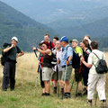 Wandergruppe im Balkangebirge