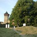 Ausstellungsplatz der Burg (Schmiedetreffen Hefaiston 2013)