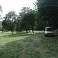 Der noch unberührte Campingplatz....grins (Schmiedetreffen Hefaiston 2013)
