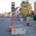 Travaux de réfection rue des Vosges - Été 2010