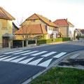 Nouvel enrobé rue des Vosges - Octobre 2010