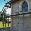Juin 2013 - Suite des travaux de restauration