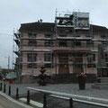 Mai 2017 - Reprise du grès et reconstruction du clocheton, le tout sous l'égide de l'architecte des bâtiments de France.