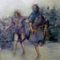 Momenti 1, Acryl auf Leinwand, , 100 x 80 cm