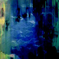 Morgen,60x 80 cm, Acryl,Spachtelmasse auf Leinwand