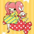 Lollipop candy girl
