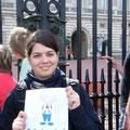 Romana am Buckingham Palace