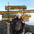 Maria auf dem Kilimandscharo