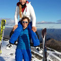 August 2014, Down Under. Vici skilehrert am Mount Buller!