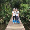 Rosa+Verena in Thailand, Kaho Yai Nationalpark, Juli 2019