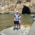Theresa mit Thomas in Malta