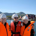 Anna-Katharina, Mirjam und Marc in Norwegen