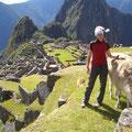 Mai 2011, Anna-Katharina in Machu Picchu