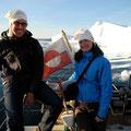 Juli 2011, Marc mit Anna-Katharina in Grönland
