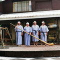Unsere Alphörner in Hakuba-Japan 白馬村, August 2019