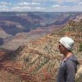 Markus am Grand Canyon 2016