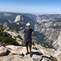 Jakob im Yosemite Nationalpark, USA August 2019