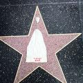 Mai 2011, Gebi auf dem Walk of Fame