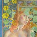 Lilith, detalle-temple sobre tabla/ Lilith,detail-tempera on panel