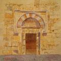 Puerta de la Mezquita -Acuarela sobre  papel Cartiera Magnani/Mezquita door-Watercolour on Cartiera Magnani paper