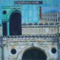 Palazzo della Ragione- Técnica mixta sobre lienzo/ Palazzo della Ragione- Mixed medium on canvas