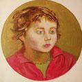 Vicki-óleo sobre lienzo/ Vicki-oil on canvas