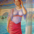 Recuerdos de Sicilia-temple sobre tabla/ Memories of Sicily-tempera on panel
