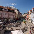 An der Klostersteige beginnt die Fußgängerzone der Stadt. (Foto: Stadt Kempten)