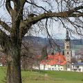 Vom Golfpark Lenzfried aus gibt es so viele verschiedene Blickwinkel Richtung Stadt. (Foto: Stephan Schöttl)