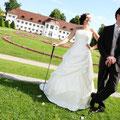 Der Hofgarten an der Residenz wird oft auch für Hochzeitsfotos genutzt. (Foto: Stephan Schöttl)