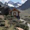 Kapelle bei der Hütte...