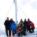 2.Gruppe am Gipfel