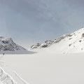 im oberen Gletscherbecken
