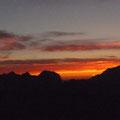 Sonnenaufgang über dem Watzmann