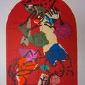 Judah - second color study uit Jerusalem Windows (1962)