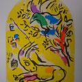 Naphtali - first color study uit Jerusalem Windows (1962)
