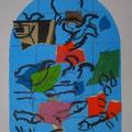 Ruben - second color study uit Jerusalem Windows (1962)