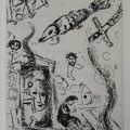 W .003  uit LETTRE A MARC CHAGALL, PC.076 (1969) 22,2 x 14,5 cm (40 x 30 cm)