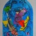 Benjamin - second color study uit Jerusalem Windows (1962)