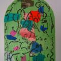 Issachar - second color study uit Jerusalem Windows (1962)