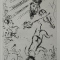 W.002 uit LETTRE A MARC CHAGALL, PC.076 (1969) 22,2 x 14,5 cm (40 x 30 cm)