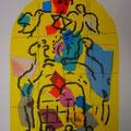 Levi - second color study uit Jerusalem Windows (1962)