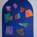 Simeon - second color study uit Jerusalem Windows (1962)