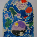 Simeon - first color study uit Jerusalem Windows (1962)