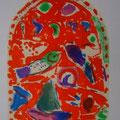 Zebulun - first color study uit Jerusalem Windows (1962)