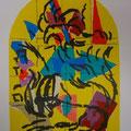 Naphtali - second color study uit Jerusalem Windows (1962)