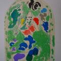 Issachar - first color study uit Jerusalem Windows (1962)