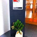 9日東川町デザインスクール。開催場所誘導のサインも とてもセンスがよいのです