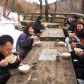 初登り&豚汁(1月)